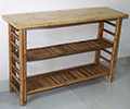 Bamboo Console Display table