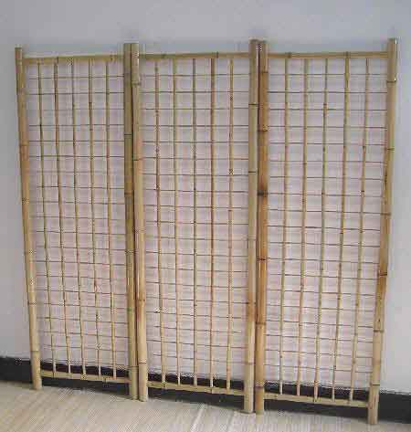 BGP Series Bamboo Gridwall Panel