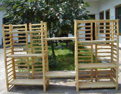 EBS Series Bamboo Dowel Rack Only