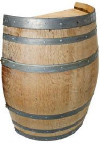 SBP series, Oak wood Split Wine Barrel Stand.