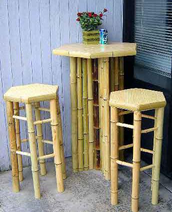green retail hospitality business bbt 30h hexagon bamboo bar