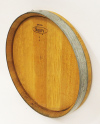 WMBH-14P, Wine Barrel Head Plaque, Gloss Lacquer finished,