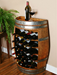 WBR-36S, Splitl Barrel Wine Rack,