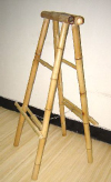 Bamboo 2 Sided Easel Floor Stand