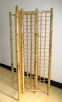BGW-72 4-sided Bamboo Grid Tower