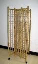 Bamboo Gridwall 4-Sided Tower