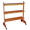 EBSS Engineered Bamboo Apperal Shelves Rack