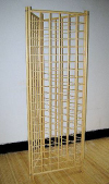 Engineered BambooGridwall™ 3 Sided Stand
