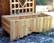 FLP Series Forest Rectangle Log Planter