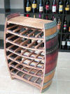 WBR-36, Full Barrel Wine Rack