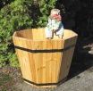 MT Series Cedar Octagonal Tub Planter