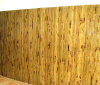Tortoise finished bamboo wall cover