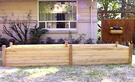MRB-3' Cedar Raised Beds
